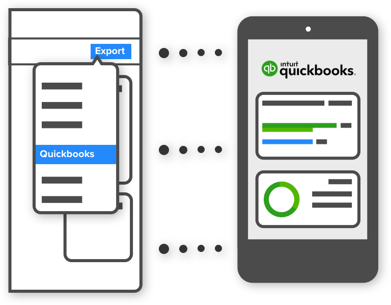 3 steps to QuickBooks
